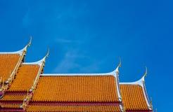 Ο μαρμάρινος ναός, Wat Benchamabopit Dusitvanaram στη Μπανγκόκ, θόριο Στοκ Φωτογραφίες