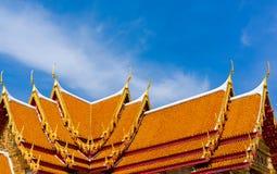 Ο μαρμάρινος ναός, Wat Benchamabopit Dusitvanaram στη Μπανγκόκ, θόριο Στοκ Εικόνες