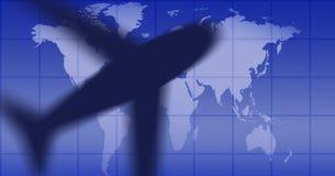ο Μαύρος αεροπλάνων απεικόνιση αποθεμάτων