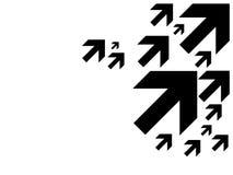 ο Μαύρος βελών Στοκ Εικόνα