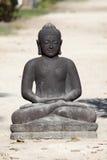 ο μαύρος Βούδας Στοκ Εικόνες