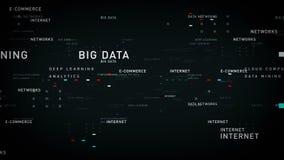 Ο Μαύρος Διαδικτύου λέξεων κλειδιών απεικόνιση αποθεμάτων