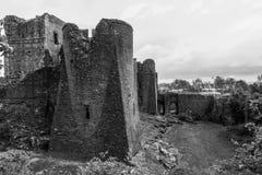 Ο Μαύρος & λευκό του Castle Goodridge Στοκ Φωτογραφία