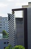 Ο μαύρος πάνθηρας Στοκ εικόνα με δικαίωμα ελεύθερης χρήσης