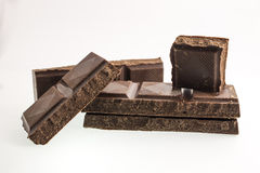Ο Μαύρος σοκολάτας Στοκ Φωτογραφία