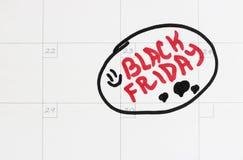 Ο Μαύρος την Παρασκευή 23 Νοεμβρίου 2018 στοκ εικόνες