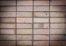 Ο μαύρος τουβλότοιχος υποβάθρου παρουσιάζει ζημία Στοκ Φωτογραφία