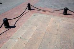 Ο Μαύρος χυτοσιδήρων στυλίσκων Στοκ Εικόνα