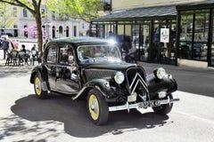 Ο Μαύρος Drive μπροστινός-ροδών της Citroen Στοκ φωτογραφία με δικαίωμα ελεύθερης χρήσης