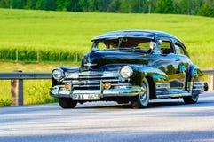 Ο Μαύρος 1947 fleetline Chevrolet Στοκ εικόνα με δικαίωμα ελεύθερης χρήσης