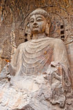 ο μεγάλος Βούδας grottoes το vairocana Στοκ φωτογραφία με δικαίωμα ελεύθερης χρήσης