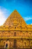 Ο μεγάλος ναός Brihadeeswara Tanjore στοκ εικόνα