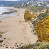 Ο μεγάλος ωκεάνιος δρόμος, Βικτώρια, Αυστραλία r στοκ φωτογραφίες