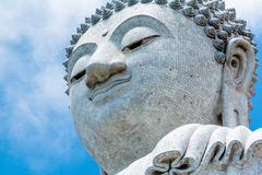 Ο μεγάλος Βούδας σε Phuket Ταϊλάνδη Στοκ Εικόνα