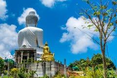 Ο μεγάλος Βούδας σε Phuket Ταϊλάνδη Στοκ εικόνες με δικαίωμα ελεύθερης χρήσης