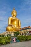 Ο μεγάλος Βούδας στην Ταϊλάνδη Στοκ Εικόνες