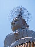 Ο μεγάλος Βούδας στον ουρανό στην Ταϊλάνδη Στοκ Εικόνες