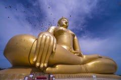 ο μεγάλος Βούδας χρυσό&sigmaf Στοκ Φωτογραφία