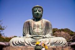 Ο μεγάλος Βούδας (Daibutsu) στοκ φωτογραφίες με δικαίωμα ελεύθερης χρήσης