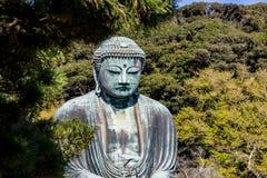 Ο μεγάλος Βούδας Daibutsu Kamakura, Ιαπωνία Στοκ Φωτογραφίες