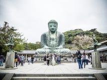 Ο μεγάλος Βούδας Kamakura Στοκ εικόνες με δικαίωμα ελεύθερης χρήσης
