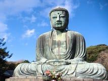 Ο μεγάλος Βούδας Kamakura Στοκ φωτογραφία με δικαίωμα ελεύθερης χρήσης