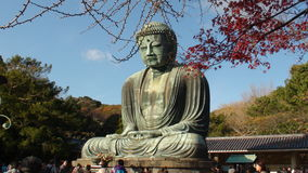 Ο μεγάλος Βούδας Kamakura Στοκ Φωτογραφίες