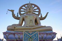 Ο μεγάλος Βούδας - Koh Samui - Ταϊλάνδη Στοκ εικόνα με δικαίωμα ελεύθερης χρήσης
