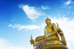 Ο μεγάλος Βούδας Phuket - ο χρυσός Βούδας Στοκ εικόνες με δικαίωμα ελεύθερης χρήσης