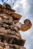 Ο μεγάλος Θεός Chac στη μονή καλογραιών σε Chichen Itza Στοκ φωτογραφίες με δικαίωμα ελεύθερης χρήσης