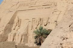 Ο μεγάλος ναός Ramesses ΙΙ abu Αίγυπτος simbel Στοκ Φωτογραφία