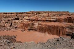 Ο μεγάλος πέφτει πτώσεις σοκολάτας είναι βόρειο-ανατολικά Flagstaff, Αριζόνα Στοκ Εικόνες