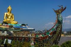 Ο μεγάλος χρυσός Βούδας, Ταϊλάνδη Στοκ Εικόνες