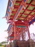 Ο μεγαλύτερος βουδιστικός ναός στην Ευρώπη, Elista, η Δημοκρατία της Καλμουκίας, νότια Ρωσία Η κεντρική πύλη του ναού στοκ εικόνα με δικαίωμα ελεύθερης χρήσης