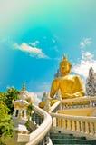 Ο μεγαλύτερος Βούδας στην Ταϊλάνδη Στοκ εικόνες με δικαίωμα ελεύθερης χρήσης