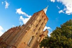 Ο μετα-Δομινικανός St.Peter και εκκλησία Σεντ Πολ σε Chelmno, Pola Στοκ φωτογραφία με δικαίωμα ελεύθερης χρήσης