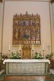 Ο μετωπικός του ασημιού του S Καθεδρικός ναός Emidio σε Ascoli Piceno στοκ εικόνες με δικαίωμα ελεύθερης χρήσης