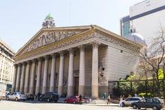 Ο μητροπολιτικός καθεδρικός ναός του Μπουένος Άιρες aires buenos της Αργεντινής Στοκ Εικόνες