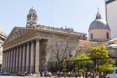 Ο μητροπολιτικός καθεδρικός ναός του Μπουένος Άιρες aires buenos της Αργεντινής Στοκ Φωτογραφίες