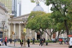 Ο μητροπολιτικός καθεδρικός ναός του Μπουένος Άιρες Στοκ Εικόνες