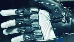 Ο μηχανικός ανθρώπινος-όπως φοίνικας απόθεμα βίντεο