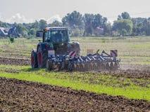 Ο μηχανοποιημένος αγρότης στοκ φωτογραφίες