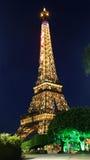 Ο μικροσκοπικός πύργος του Άιφελ της Κίνας Στοκ Εικόνες