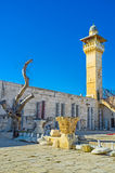 Ο μιναρές του Al-Aqsa στοκ εικόνες με δικαίωμα ελεύθερης χρήσης