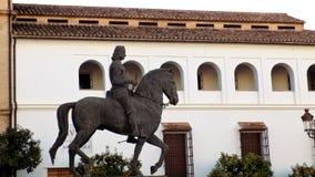 Ο μνημείο-ινφάντης φορά Fernando-Antequera Ανδαλουσία-ΙΣΠΑΝΙΑ Στοκ Εικόνα