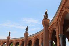 Ο μνημειακός καθεδρικός ναός Aparecida do Norte Στοκ Φωτογραφία