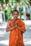 Ο μοναχός Στοκ Φωτογραφία