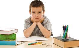 ο μορφασμός κάνει schoolboy Στοκ φωτογραφία με δικαίωμα ελεύθερης χρήσης