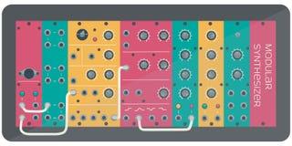 Ο μορφωματικός συνθέτης χρώματος απεικόνιση αποθεμάτων