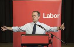 Ο Μπιλ κονταίνει, αυστραλιανός ηγέτης κόμματος εργασίας Στοκ Εικόνες